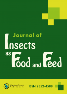 Journal of Insects as Food and Feed - Media Partner